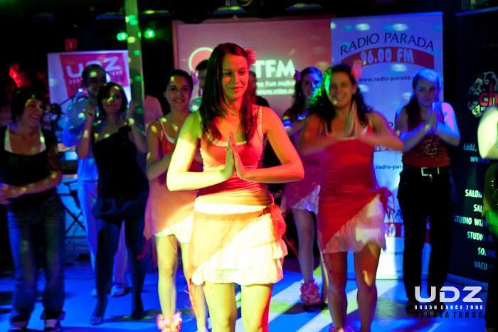 UDZ - Tańcz w Wielkim mieście! Pokaz dla Radia Parada w Klubie Antrakt