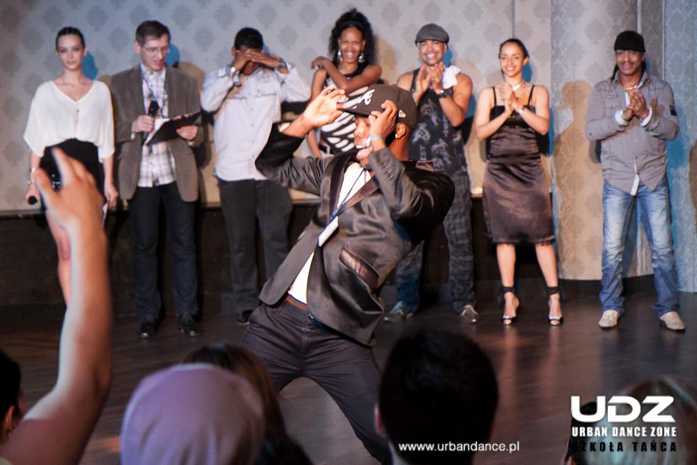 UDZ - Tańcz w Wielkim mieście!  FREDYCLAN GARCIA BATISTA! Warsztaty CUBA MI AMOR 6! 6-7 października lutego 2012r.