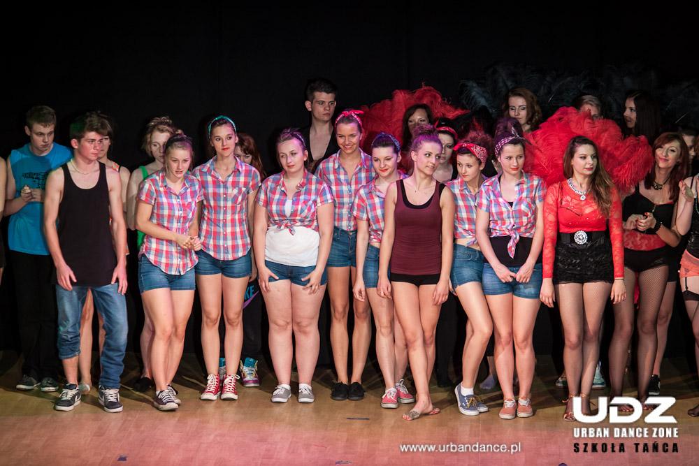 UDZ - Tańcz w Wielkim mieście! Relacja - United Colors of UDZ! Spektakl taneczny 2013